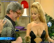 Dana Fleyser huge tits cleavage
