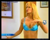 Paula Martinez big boobs bra