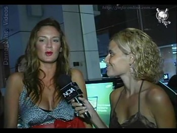 Paula Chaves busty beauty cleavage