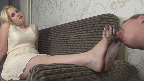 Dani - clean my dirty soles! Full HD