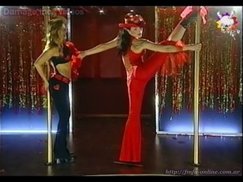 Natalia Oreiro hot poledance