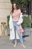 Emily Ratajkowski - Candids in Jeans at the Ritz Hotel in Paris 4