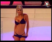 Adabel Guerrero striptease on the catwalk