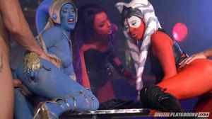 Alessa Savage, Aria Alexander, Eva Lovia - Star Wars Underworld: a XXX Parody sc6, HD, 720p