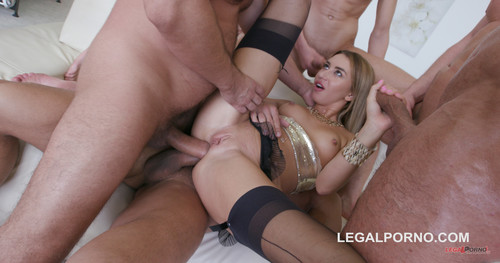 LegalPorno.com: Katrin Tequila - 7on1 Double Anal GangBang with Katrin Tequila / See Trailer for more info / GIO336