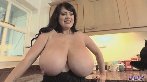 Rachel Aldana – Natural Breasts Blue Stretch Top 1 HD 720p