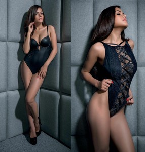 Mogga Shirrah - Black Beauty - FHM Indonesia