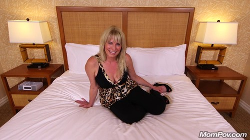 MomPov.com - Marley - Blonde hair blue eyed porn virgin