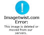 Amalia Granata hot body in black thong