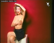 Ines Estevez posing nude