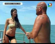 Paz Tarragona sexy model in bikini