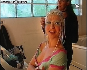 Natalia Oreiro cleavage nipple oops