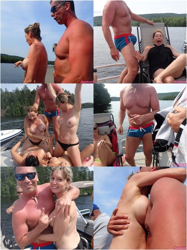 German Girlfriends Make Hot Nude Pictures On A Boat Trip