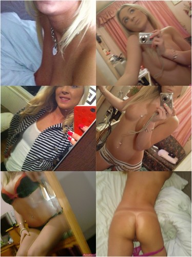 Busty Larissa From Dortmund Blonde Nude Selfies (+ 2 Videos)