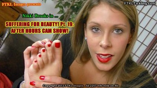 Suffering For Beauty! Pt. 19: After Hours Cam Show! (800x500)