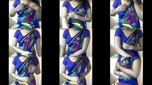 Meera Vasudevan hot sexy milf teasing indian desi boo bhabi saree