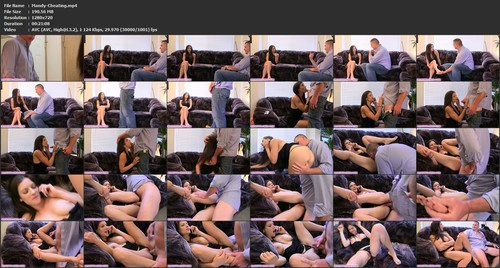 Mandy Flores - Cheating Blackmail Fantasy, HD