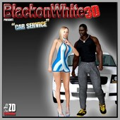 BlackonWhite3D - Car Service