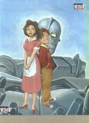 Iron Giant by Milftoon