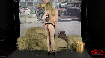 Cali Skye - Burlap And Lingerie, mp4, HD, 720p
