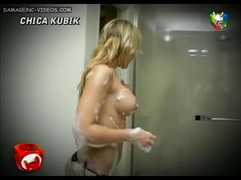 Mariel Romano topless in the shower