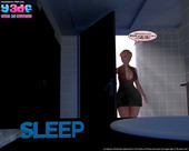 New 3d awesome comic from Y3DF - Sleep - 40 pages