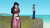 Sexy cartoon comic from Harem Heroes - The Juy Sea