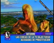 Maria Eugenia Rito half topless hand bra