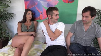 Cum Eating Cuckolds : Olivia Lua His Brother