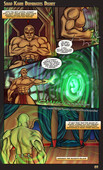 New comic for adults by Miycko - Shao Kahn Dominates Disney - 4 pages