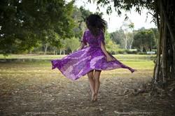 Scarlett Morgan - Purple Dress