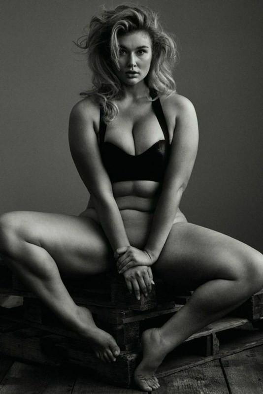 Hunter McGrady Nude For Treats Magazine