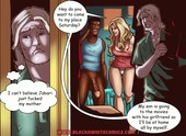 Blacknwhitecomics - On-line Dating Dilemma