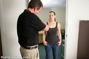 Jessy Is Spanked With The Belt - image2