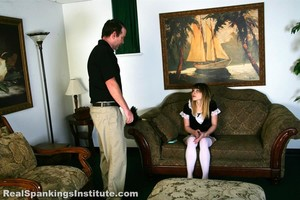 Maid Mable Is Spanked By Her Boss - image3