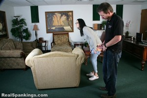 Jordyn Spanked With Belt And Spoon (part 1 Of 2) - image6
