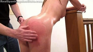 Alyssa: Wet Bottom Spanking - image5