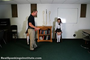 Betty And The Dean Spank Kj And Monica (part 3 Of 4) - image1