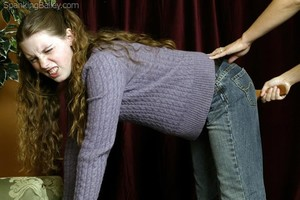 Bailey's After School Spanking - image4