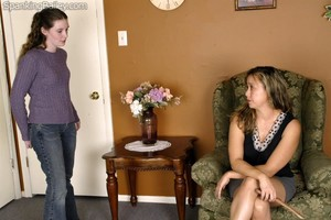 Bailey's After School Spanking - image1