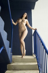 Cheyanne - Blue Stairs