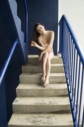 Cheyanne - Blue Stairs