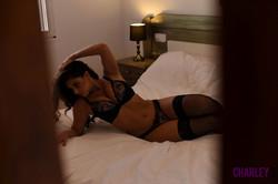 Charley Teasing in Black Lingerie in Bedroom 76s0fhgwqs.jpg
