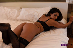 Charley Teasing in Black Lingerie in Bedroom  w6r6lnkx0i.jpg