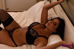 Charley Teasing in Black Lingerie in Bedroom e6s0fiuudn.jpg